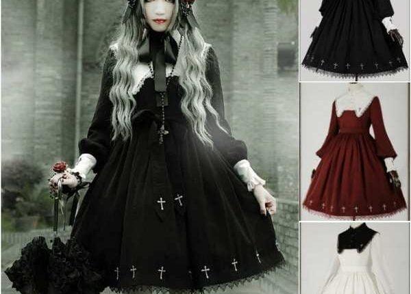 Abbigliamento Donna Gotico