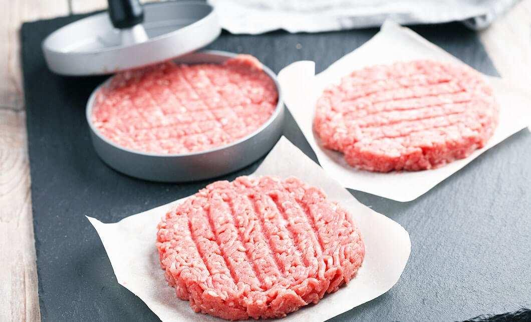 Pressa per hamburger