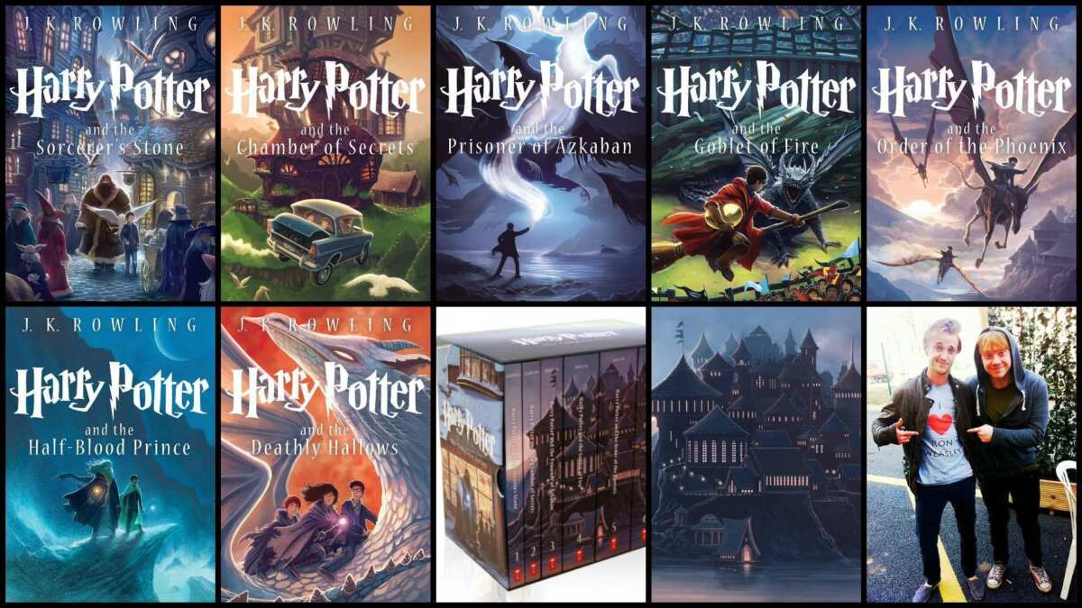 Dove posso trovare i libri di Harry Potter